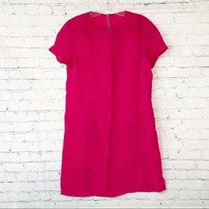 Fridaze 100% Linen Pink Dress, Size S